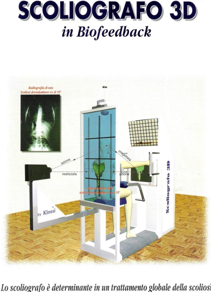Scoliografo 3D in biofeedback nell'età dello sviluppo
